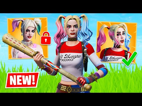 New HARLEY QUINN Skin Gameplay!! (Fortnite Battle Royale)