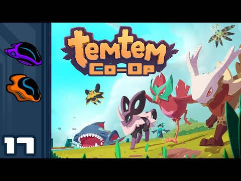 Let's Play Temtem [Co-Op] - PC Gameplay Part 17 - Is It Wrong To Pick Up Friends In A Cave?