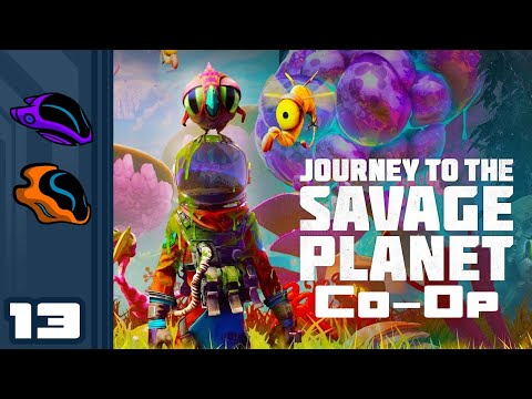 Let's Play Journey to the Savage Planet - Part 13 - The Secret Of The Ooze Cube