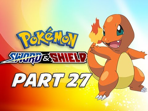 POKEMON SWORD & SHIELD Walkthrough Part 27 - Charmander (Nintendo Switch)