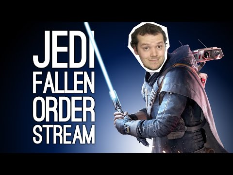 Star Wars Jedi Fallen Order Live - Let's Play Fallen Order
