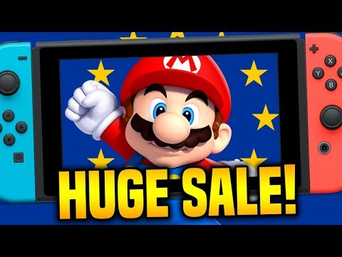 Top 10 BEST Switch Sales Right NOW... HUGE EU Sale!