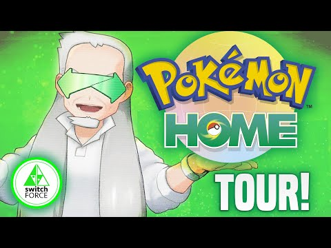 How to USE New Pokemon Home App... Transfer and Get NEW Pokemon!