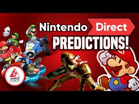 Top 10 February Nintendo Direct Predictions! Mario Kart 9, Paper Mario, Metroid Prime Trilogy!