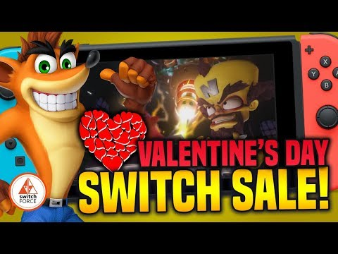 Switch Valentine's Day eShop Sales and Deals!