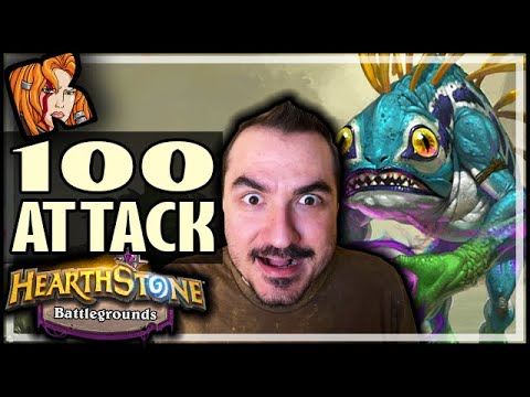 100 ATTACK TIDECALLER?! - Hearthstone Battlegrounds