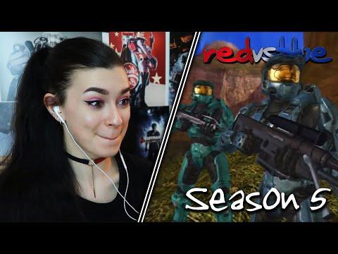 WHERE IS O'MALLEY?... | Red vs. Blue Reaction | Season 5 | EP 8-15