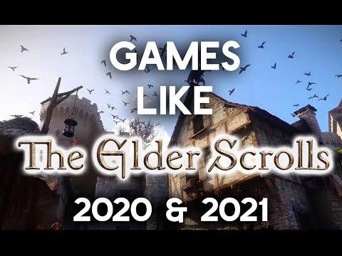 TOP 6 Upcoming Games like The Elder Scrolls   2020 & 2021