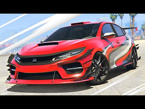 NEW $2,000,000 *HONDA CIVIC TYPE R* in GTA 5! (NEW DLC)