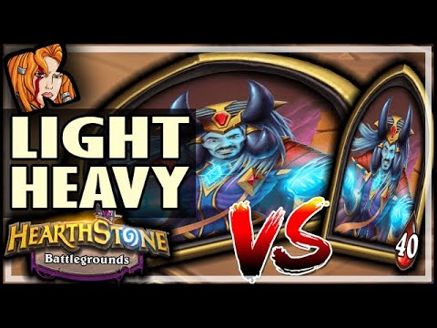 A LIGHT LICH BEATS A HEAVY LICH! - Hearthstone Battlegrounds
