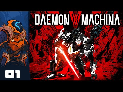 Let's Play Daemon X Machina - PC Gameplay Part 1 - RoboDad Is Here To Kick Some Chrome
