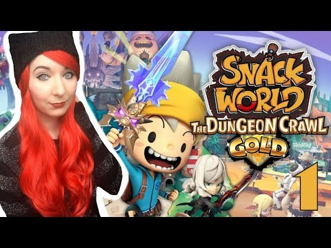 Fans Of Fantasy Life Should Check Out This Game!  - SNACK WORLD: THE DUNGEON CRAWL — GOLD Part 1