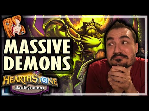 MASSIVE DEMON MENAGERIE WORKS! - Hearthstone Battlegrounds