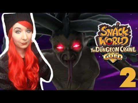 Medusa BOSS & Multiplayer Gameplay // SNACK WORLD: THE DUNGEON CRAWL — GOLD Part 2
