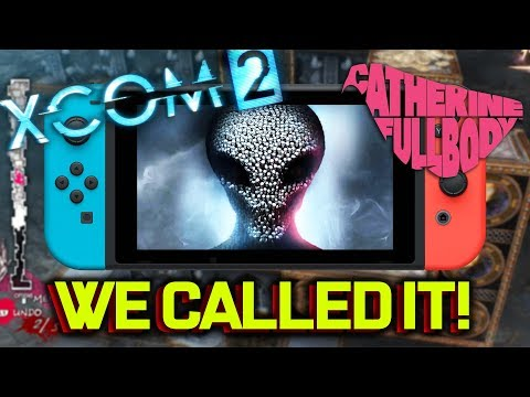 XCOM 2 Coming To Switch! WE CALLED IT! (Plus Catherine Full Body Switch!)