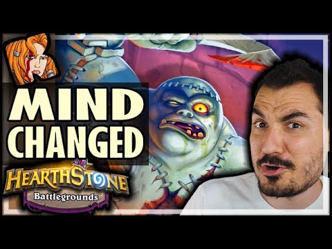 PATCHWERK?? MY MIND HAS CHANGED! - Hearthstone Battlegrounds