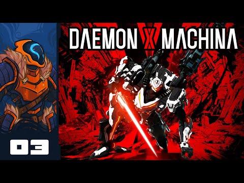 Let's Play Daemon X Machina - PC Gameplay Part 3 - Chop Shop