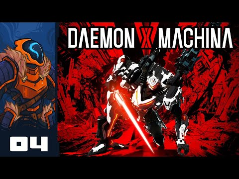Let's Play Daemon X Machina - PC Gameplay Part 4 - Down Goes The Gunfort!