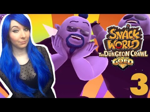 The Genie Aces // SNACK WORLD: THE DUNGEON CRAWL — GOLD Part 3
