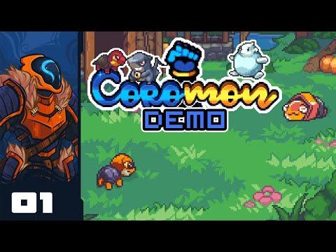 Let's Play Coromon [Demo] - PC Gameplay Part 1 - A Faithful Imitation, Pretty High Quality Too!