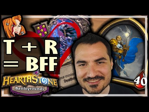 TIRION + RIVENDARE = BFFs - Hearthstone Battlegrounds