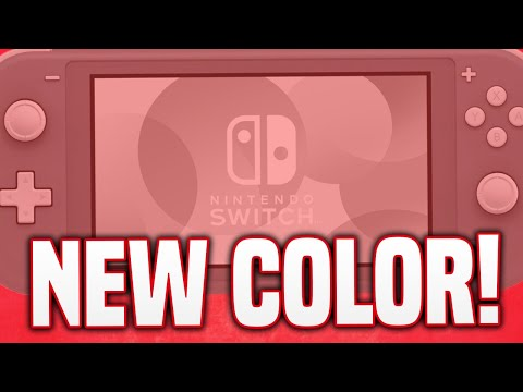 NEW Switch Lite Color is Coming... Still NO Nintendo Direct!