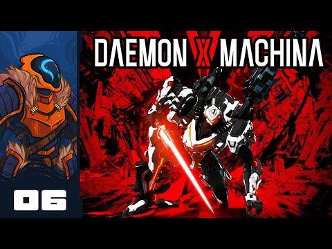 Let's Play Daemon X Machina - PC Gameplay Part 6 - Conspiracy Cream!