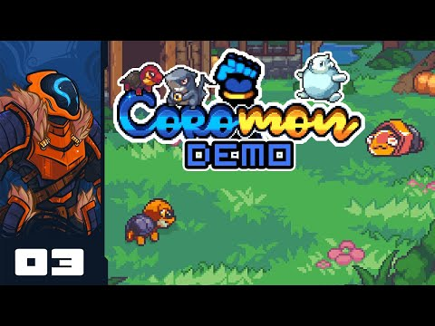 Let's Play Coromon [Demo] - PC Gameplay Part 3 -  Break The Mold A Bit