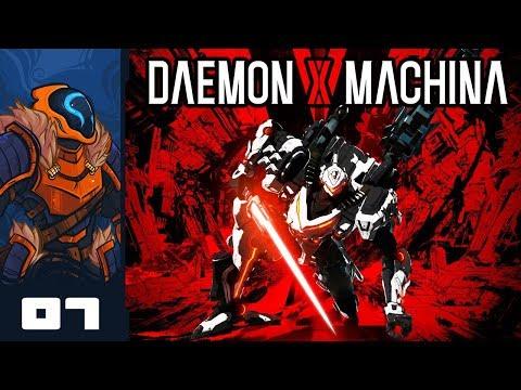 Let's Play Daemon X Machina - PC Gameplay Part 7 - 100% Dadsuit