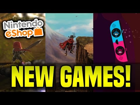 Are THESE New Switch eShop Games Any Good!? (10 Minutes of Switch Gameplay)
