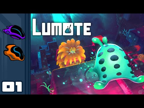 Let's Play Lumote - PC Gameplay Part 1 - Puzzle Solving Has Never Been More Adorable