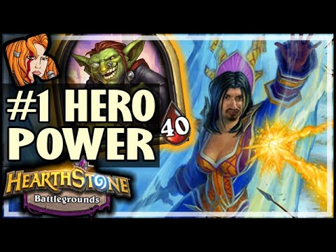 ICEBLOCK STILL #1 HERO POWER - Hearthstone Battlegrounds