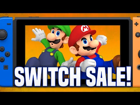 Best Switch Sales and Nintendo Deals Available Right Now!