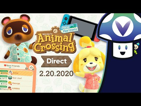 [Vinesauce] Vinny - Animal Crossing: New Horizons ~ 2.20.2020 Direct