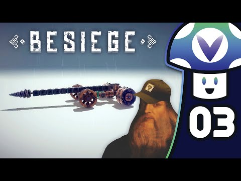 [Vinesauce] Vinny - Besiege (PART 3)