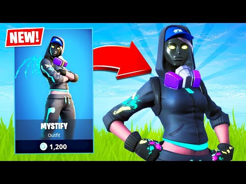 New MYSTIFY Skin! (Fortnite Chapter 2, Season 2)