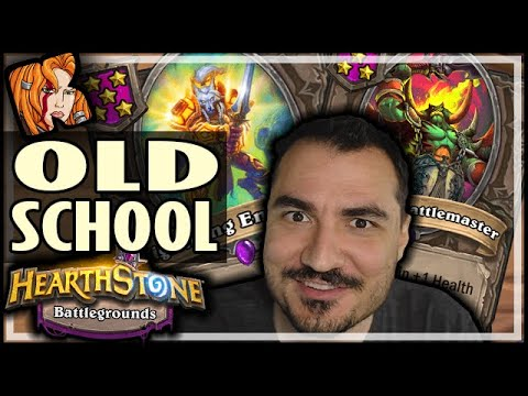 OLD SCHOOL MENAGERIE ROCKS! - Hearthstone Battlegrounds
