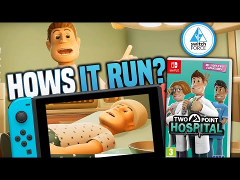 Two Point Hospital Nintendo Switch Gameplay: How's It Run!?