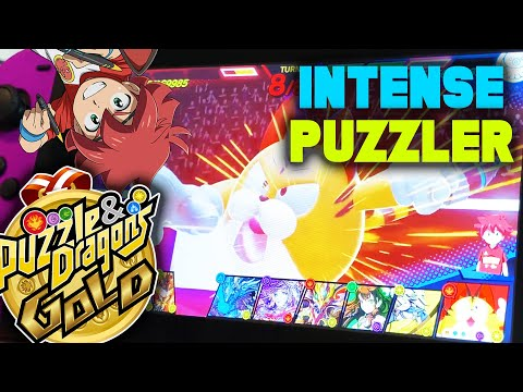 MORE Intense Puzzle Action on Nintendo Switch! (Puzzle and Dragons Gold Gameplay)