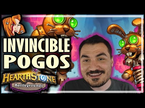 INVINCIBLE POGO BUILD?! - Hearthstone Battlegrounds