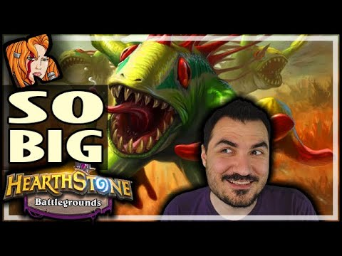 MY BIGGEST MURLOCS EVER - Hearthstone Battlegrounds