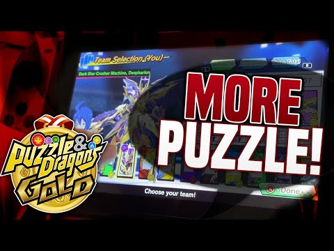 TOUCH THE SCREEN FAST! More Switch Game Puzzle Action! (Puzzle and Dragons Gold Gameplay Nintendo)