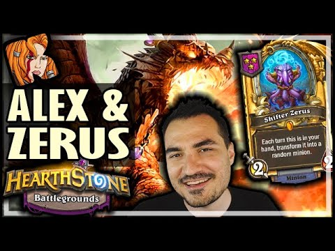ALEX & GOLDEN ZERUS! - Hearthstone Battlegrounds