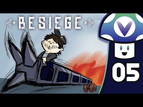 [Vinesauce] Vinny - Besiege (PART 5)
