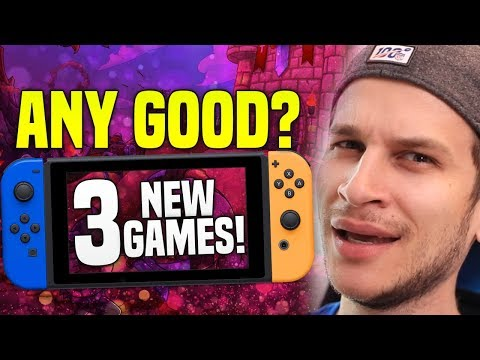Are They Any Good!? 3 NEW Switch Games Just Released on Switch eShop! (New Switch Gameplay)