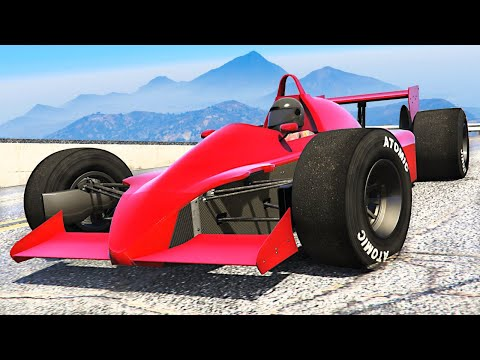 *NEW* F1 CARS and RACES UPDATE in GTA 5! (DLC)