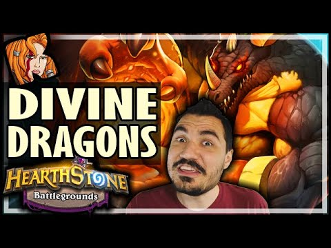 DIVINE DRAGONS UNBEATABLE? - Hearthstone Battlegrounds