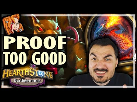 PROOF THAT DEATHWING IS TOO GOOD! - Hearthstone Battlegrounds
