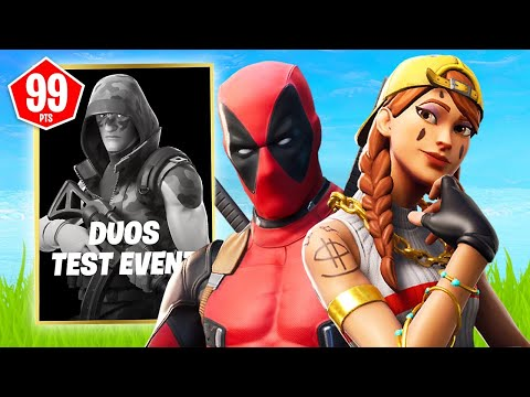New DUOS TEST EVENT Tournament!! (Fortnite Battle Royale)