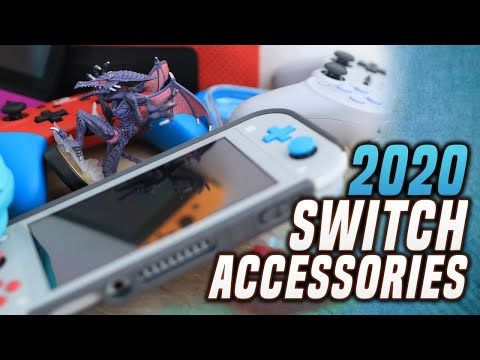 Best Switch Accessories for 2020! (Switch Lite, Switch Cases and Controller!)